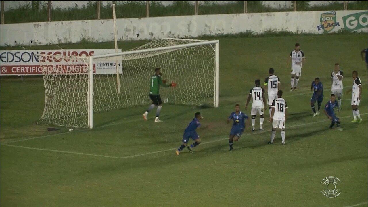 Confira como foi a vitória do Atlético-PB sobre o time reserva do Botafogo-PB