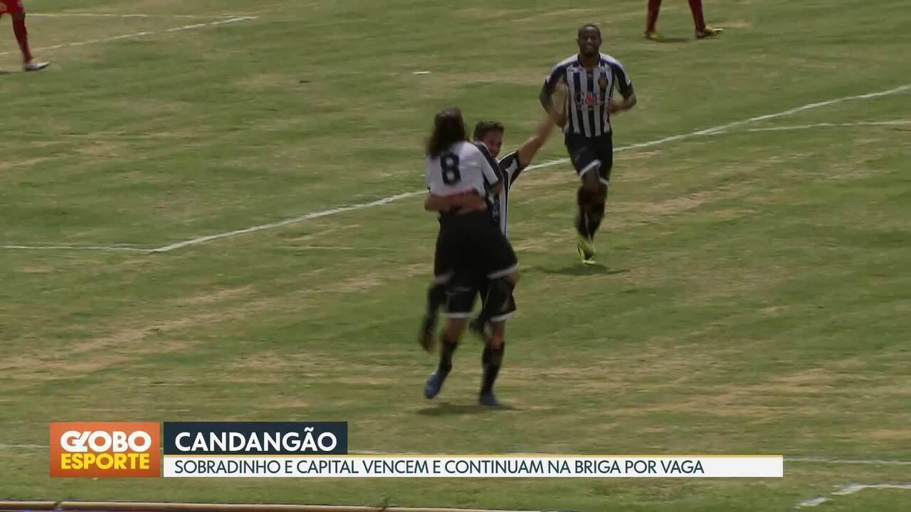 Sobradinho e Capital vencem no fechamento da 7ª rodada do Candangão