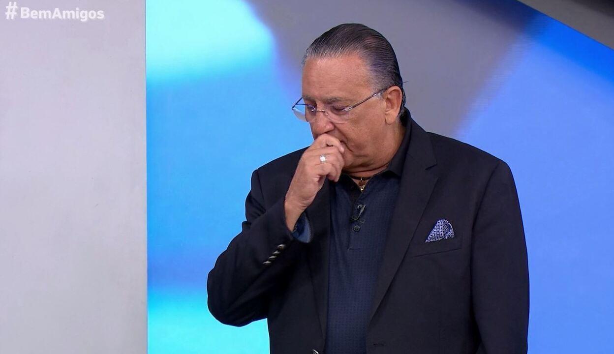 Galvão se emociona ao conversar com Pepe sobre a morte de Coutinho: