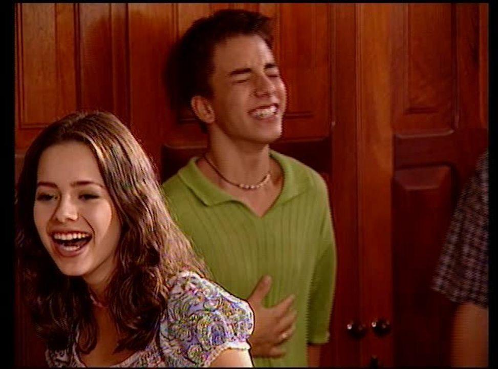 Sandy & Júnior no 'Falha Nossa'