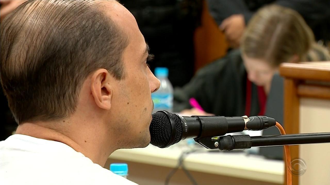 Veja como foi o depoimento do réu Leandro Boldrini, pai de Bernardo, no julgamento