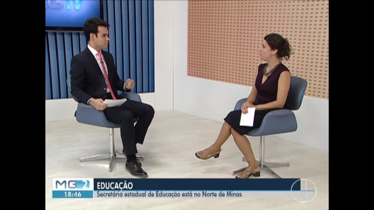 Secretária estadual de Educação se reúne com diretores de escolas do Norte de Minas