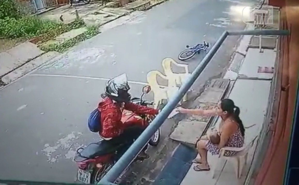 Homem assalta mulher com bebê de colo na Zona Sul de Teresina