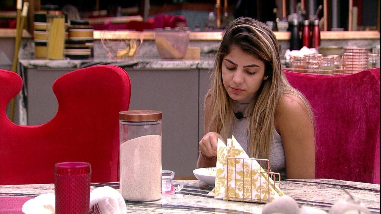 Hariany questiona Paula: 'Será que a gente faz muita coisa de errada aqui?'