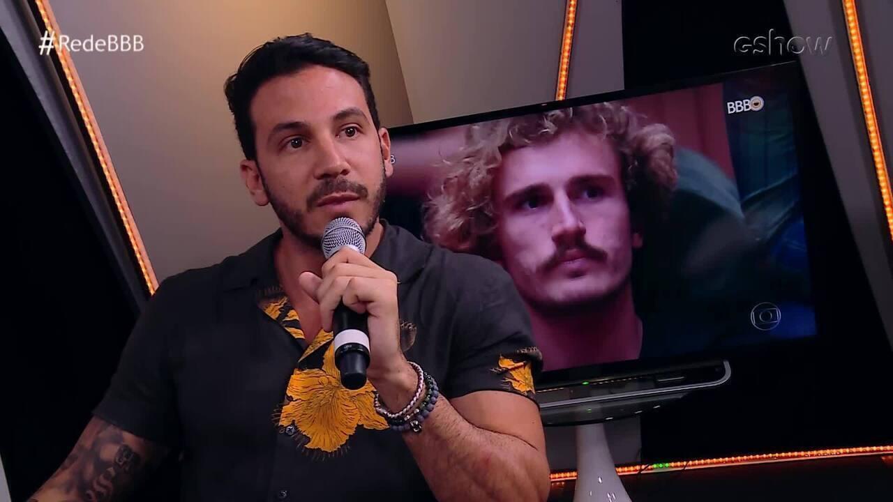 Gustavo critica votos de Alan: 'Sempre fica em cima do muro'