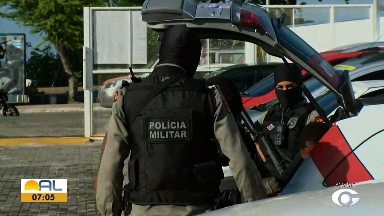 Polícia cumpre mandados de prisão contra suspeitos de homicídios em Maceió