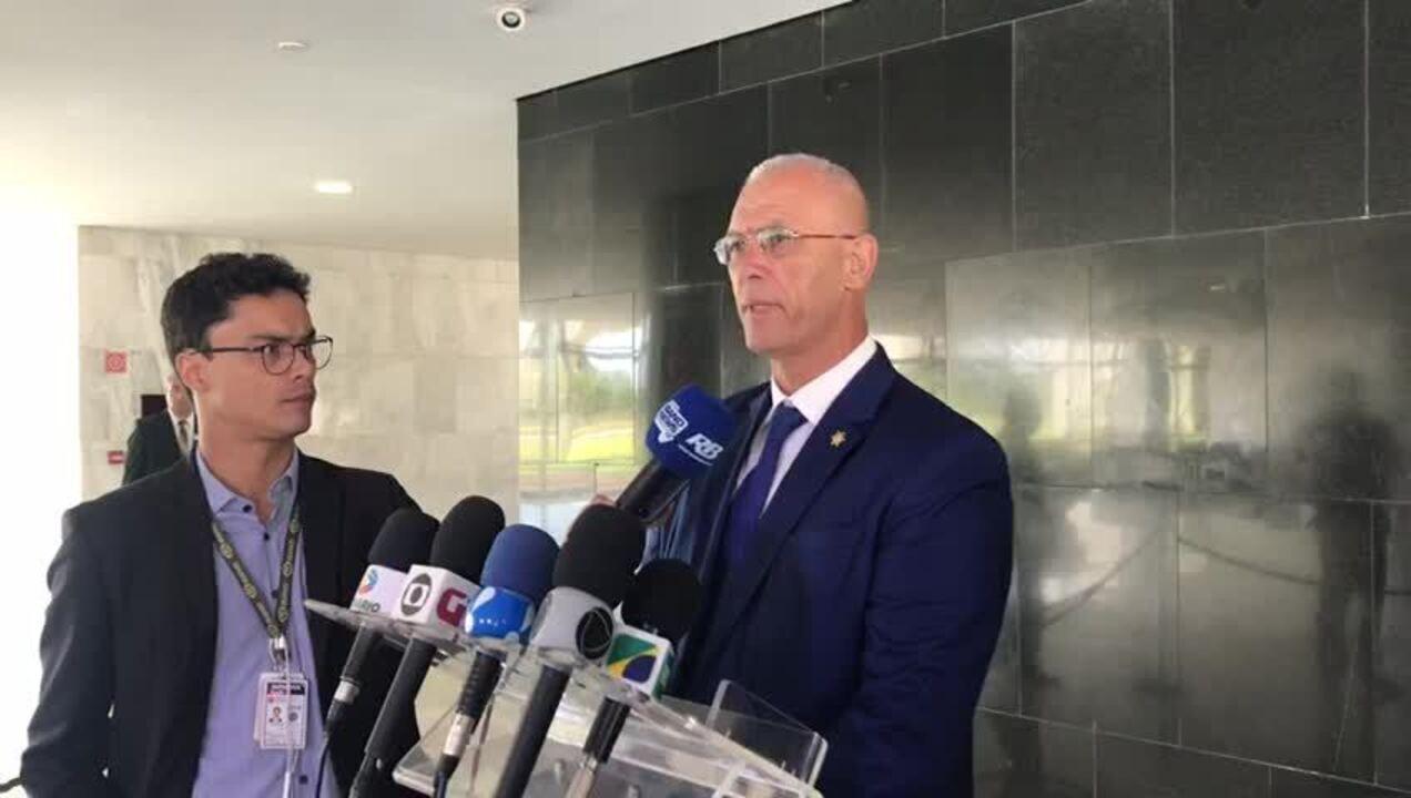 Embaixador de Israel falou no Palácio do Planalto sobre viagem de Bolsonaro ao país