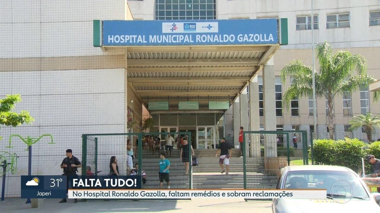 Pacientes do Hospital Ronaldo Gazolla sofrem com o descaso