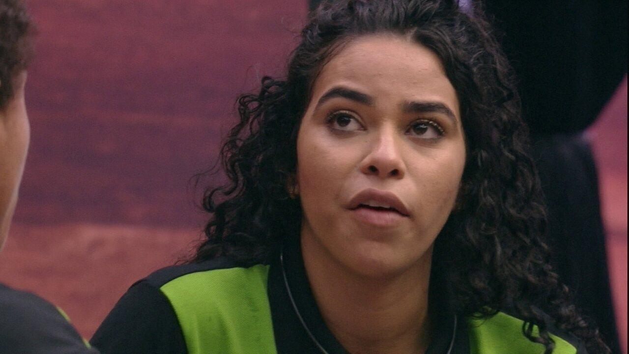 Elana opina sobre Prova do Anjo King em Dobro: 'Ali não tem estratégia, só sorte'