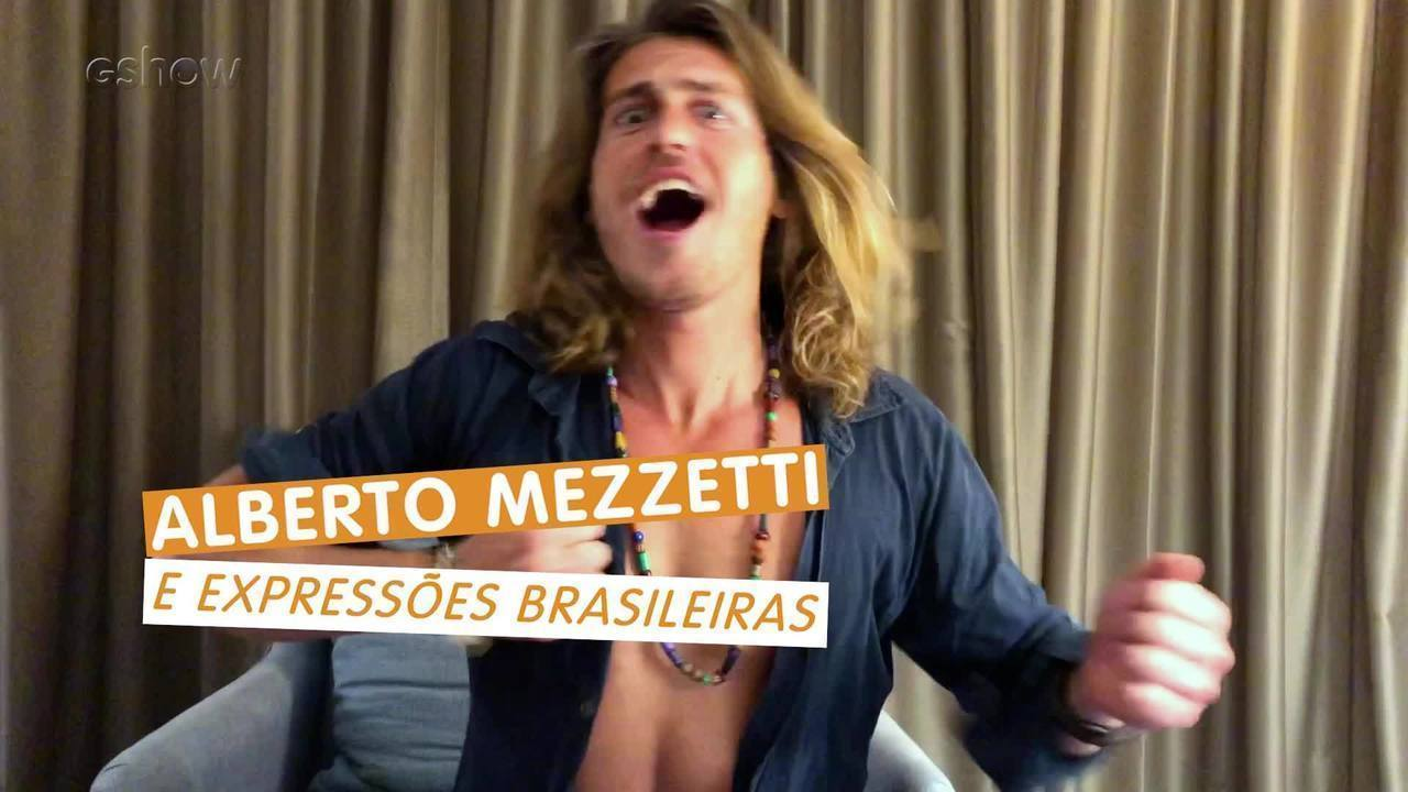 Alberto Mezzetti tenta decifrar palavras e gírias em português