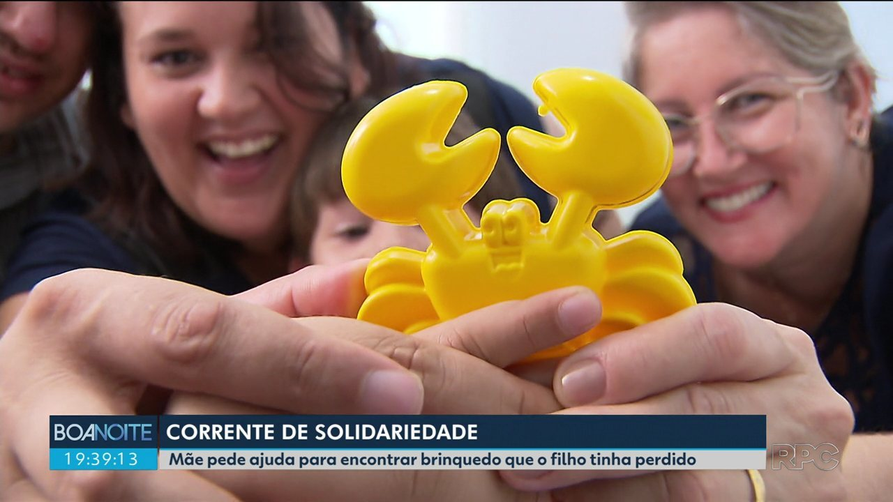 Mãe pede ajuda para encontrar brinquedo perdido pelo filho autista