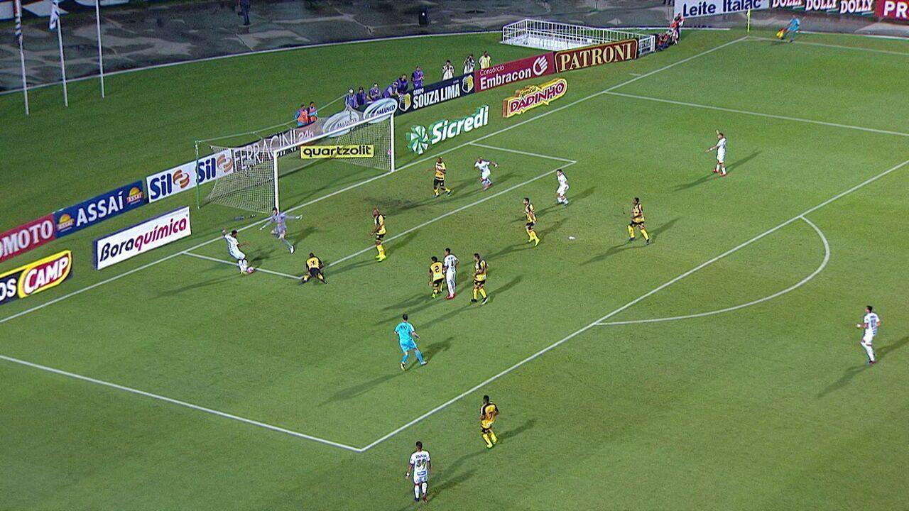 Melhores momentos de Santos 0 x 1 Novorizontino pelo Campeonato Paulista