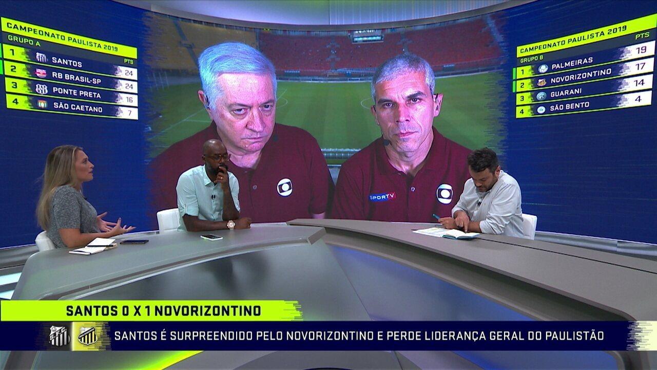 Santos tem sido previsível? Comentaristas discutem