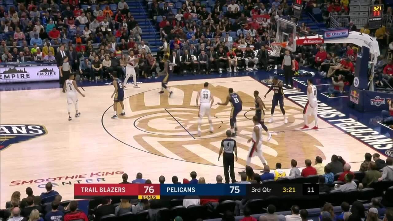 Melhores momentos de Portland Trail Blazers 122 x 110 New Orleans Pelicans