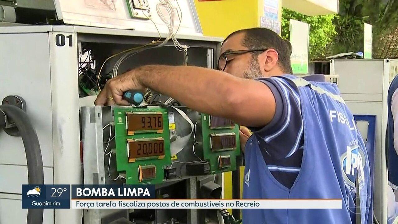 Denúncias de consumidores desencadeia operação em postos de combustíveis no Recreio