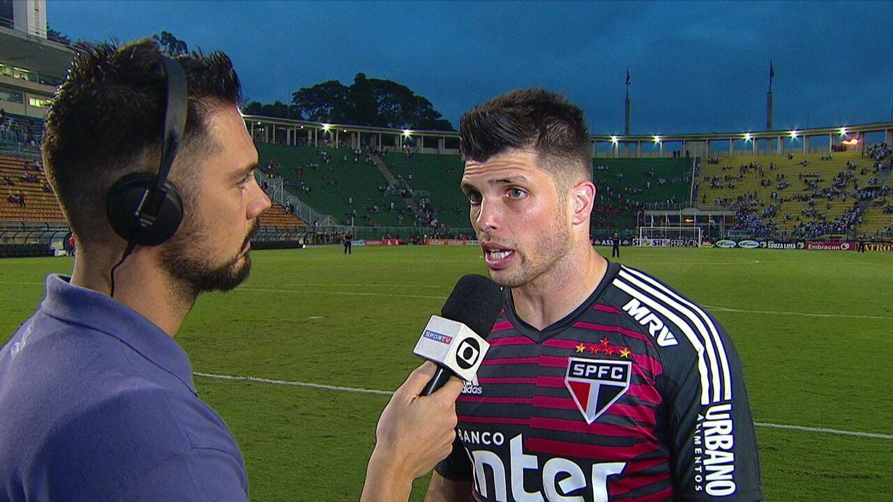 Volpi fala sobre situação ruim do São Paulo no Paulistão: