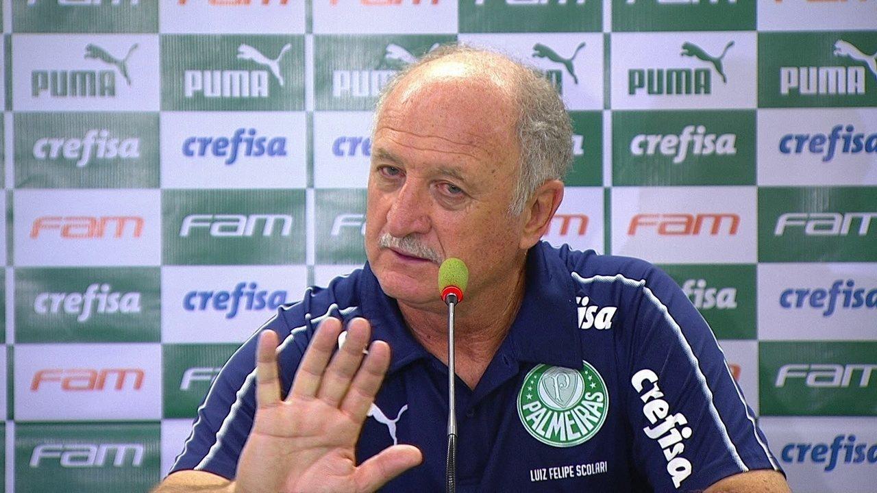 Felipão analisa a vitória do Palmeiras no clássico contra o São Paulo