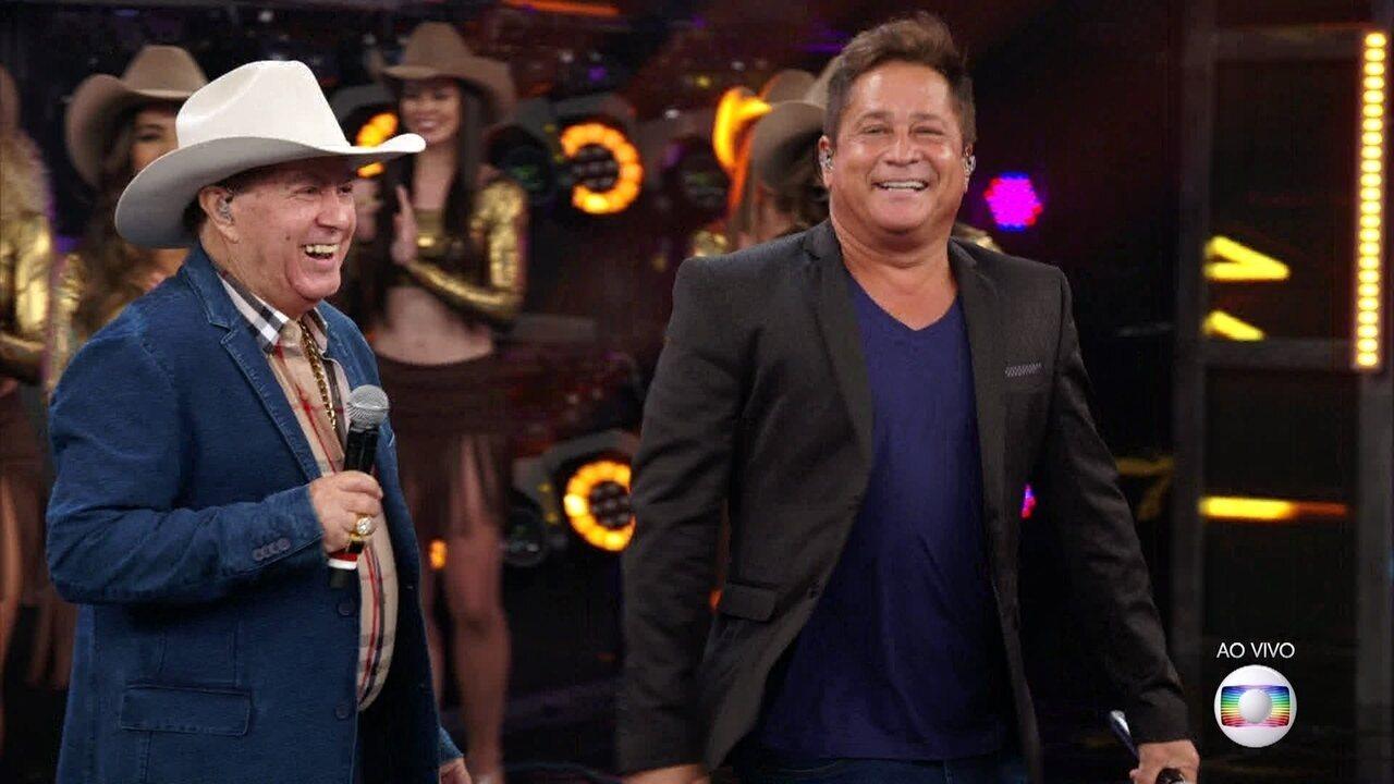 Serginho e Caio acertam e Milionário vai ao palco com Leonardo