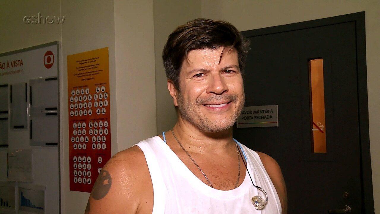 Paulo Ricardo lembra participação no 'Show dos Famosos'