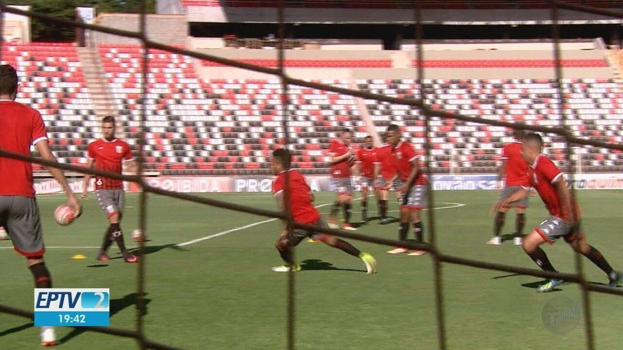 Botafogo-SP decide contra o Santos a permanência na elite do Paulistão
