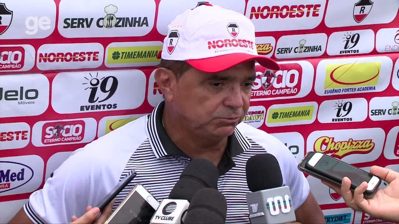 Flávio estuda Altos antes de duelo que vale liderança ao River-PI