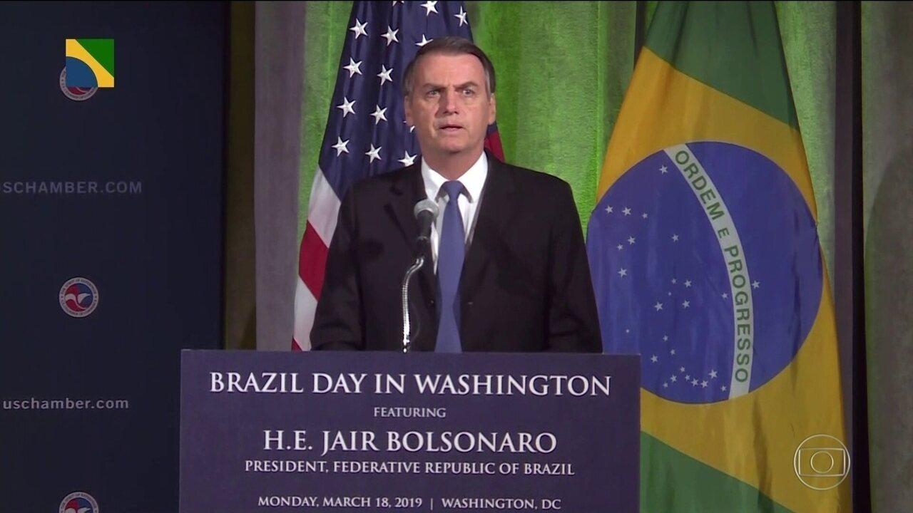 Bolsonaro diz que vê semelhanças entre a eleição dele no Brasil e a de Trump nos EUA