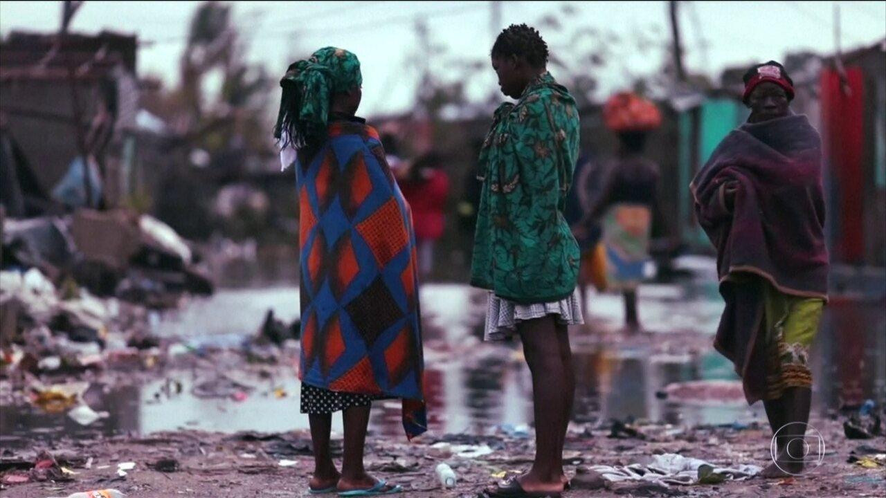 Pode passar de mil o número de mortos na passagem de ciclone no Sudeste da África