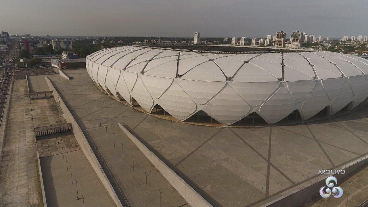 Custo de manutenção da Arena da Amazônia chega a R$ 1 milhão