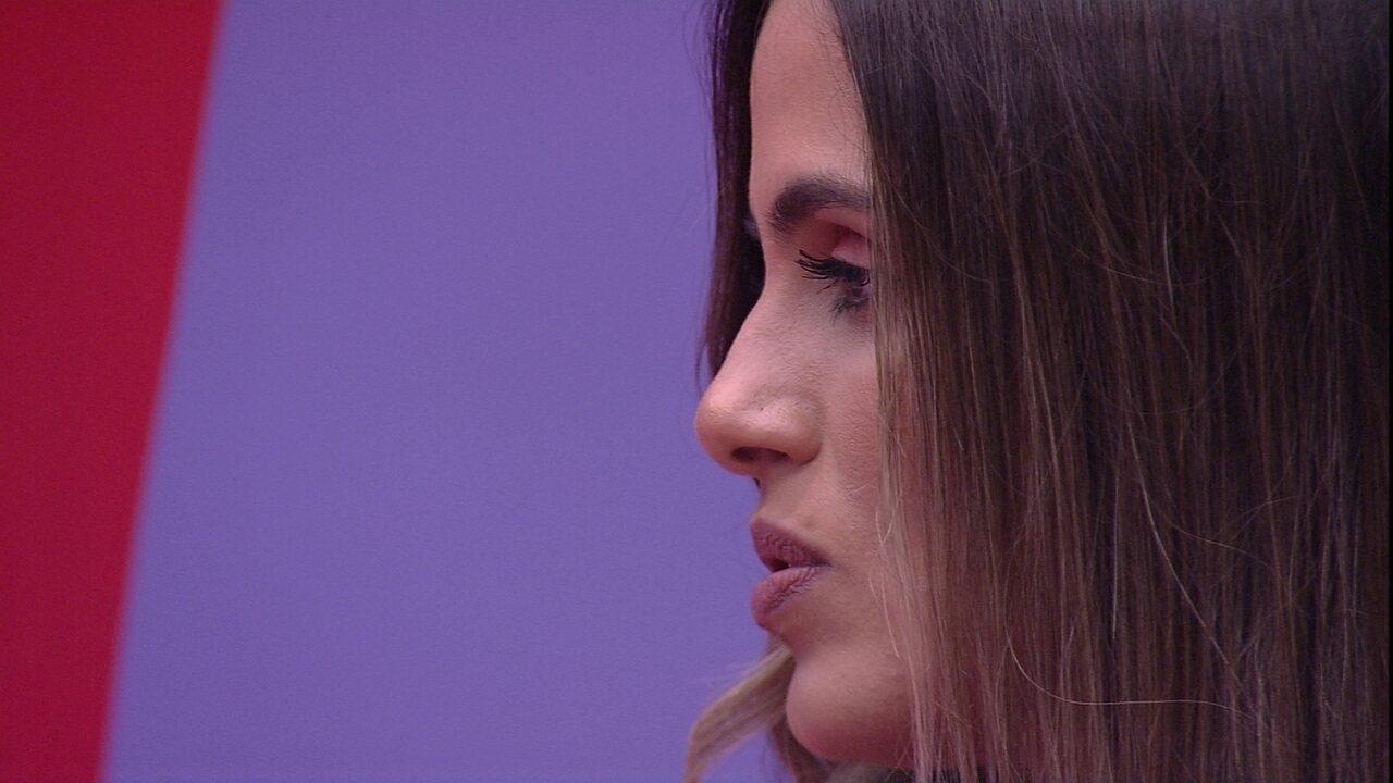 Emparedada, Carolina comenta: 'Não tenha quem não fique com um medinho'