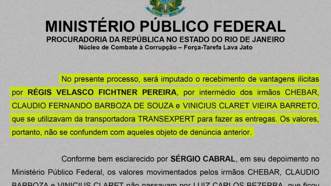 Ex-governador Sérgio Cabral é denunciado mais uma vez pelo MPF