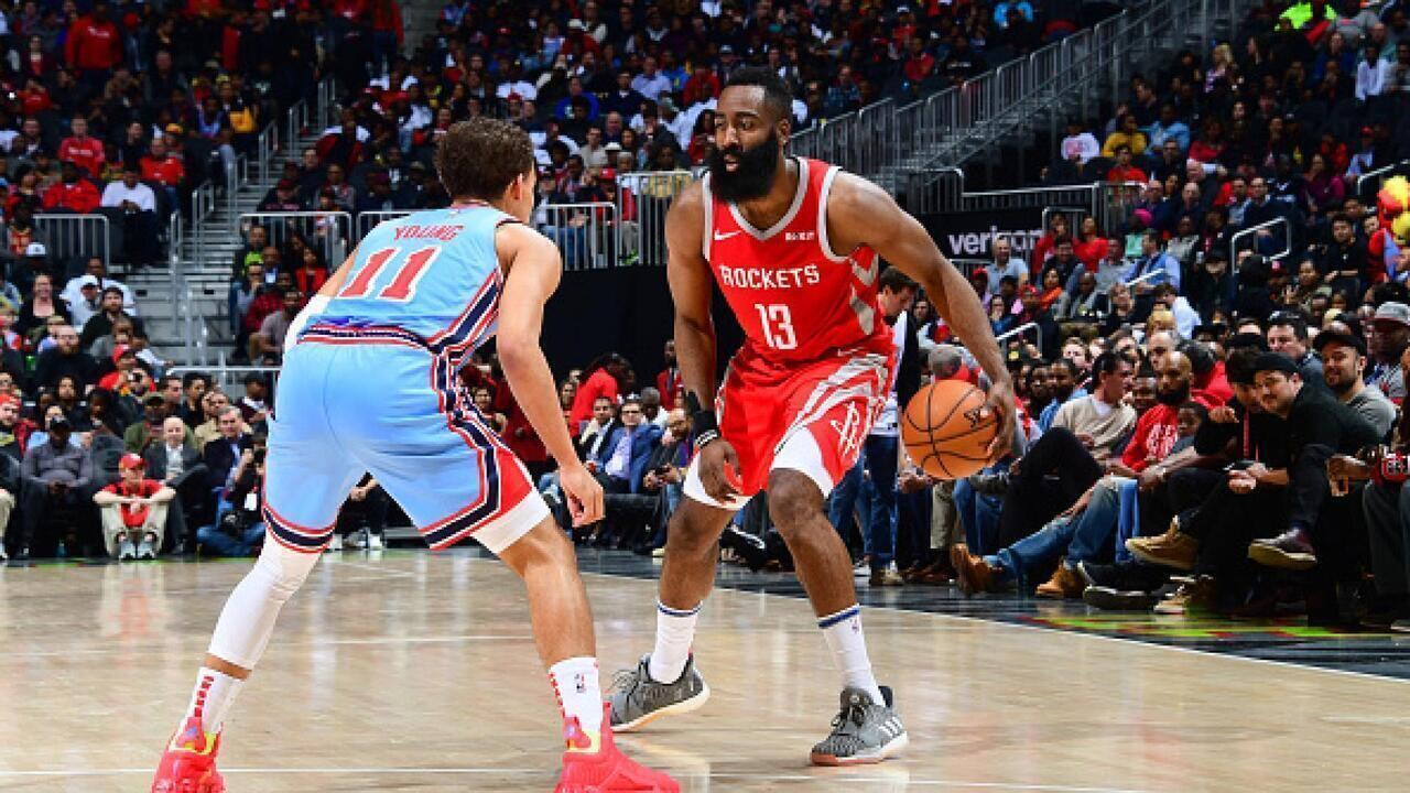 Melhores momentos: Houston Rockets 121 x 105 Atlanta Hawks pela NBA