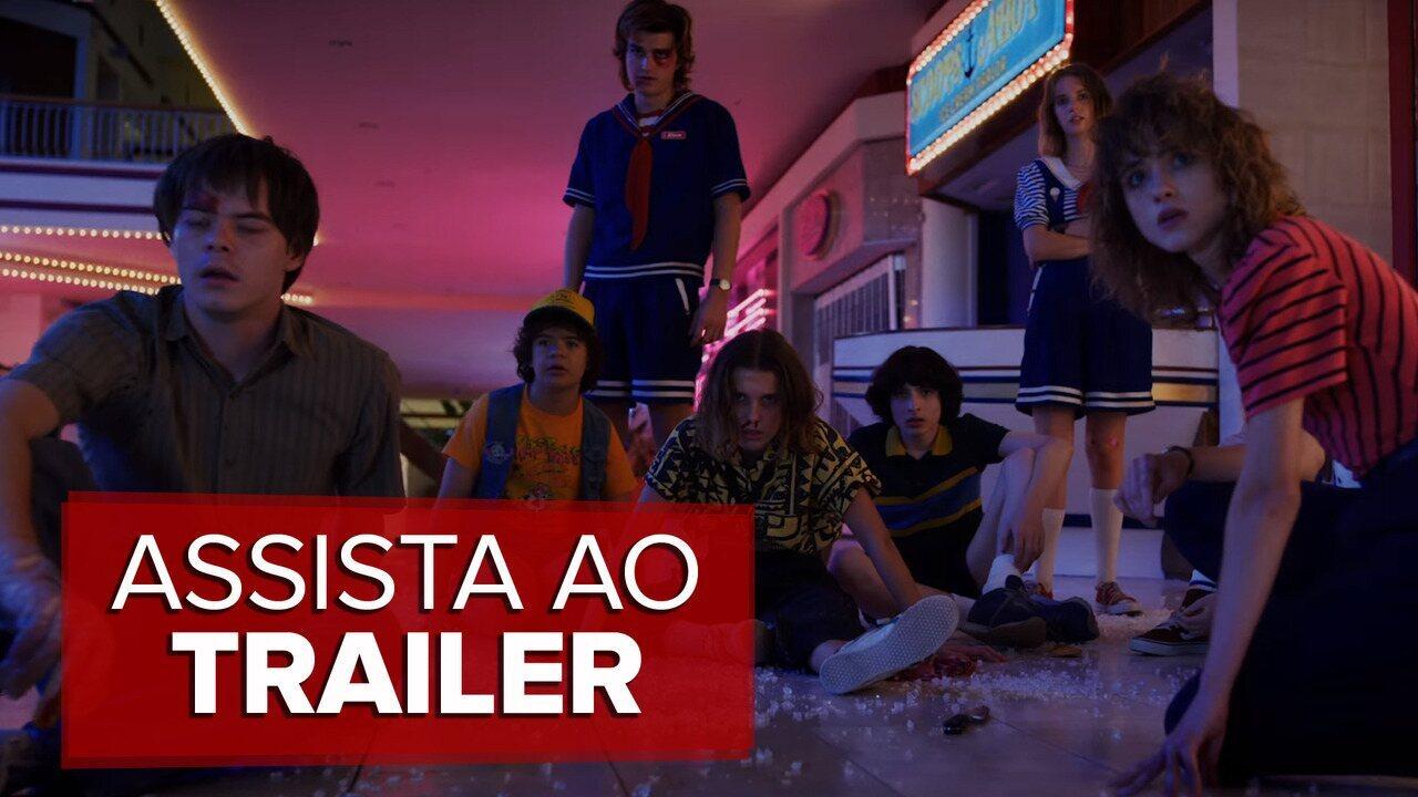 Assista ao trailer da terceira temporada de 'Stranger Things'