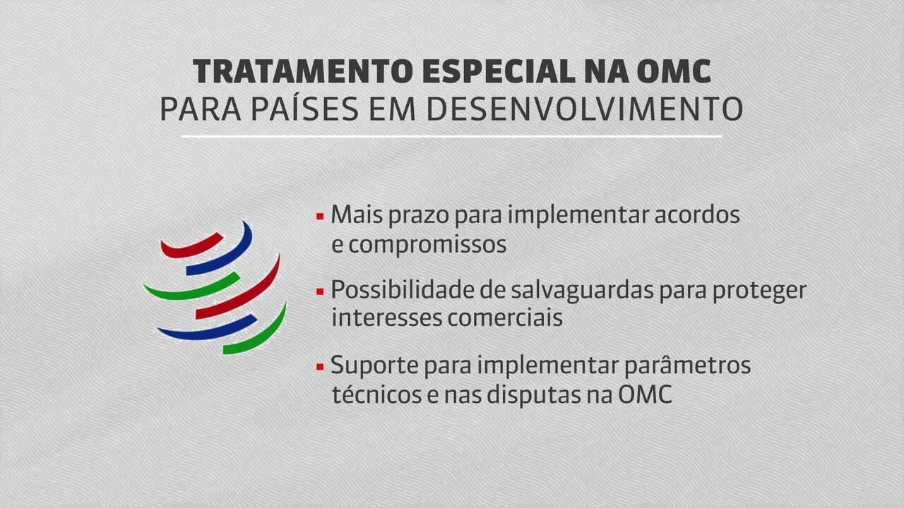 Brasil pode abrir mão de tratamento especial na OMC para entrar na OCDE