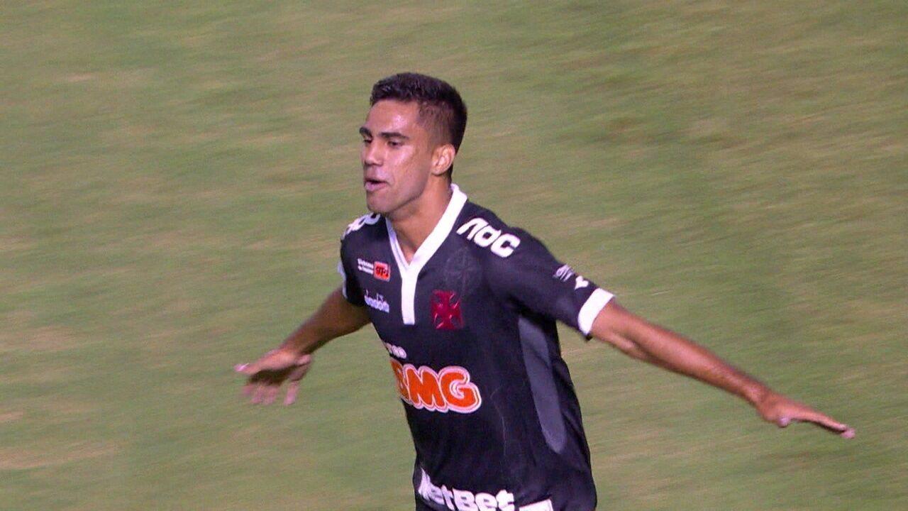 Os gols de Resende 0 x 2 Vasco pelo Campeonato Carioca