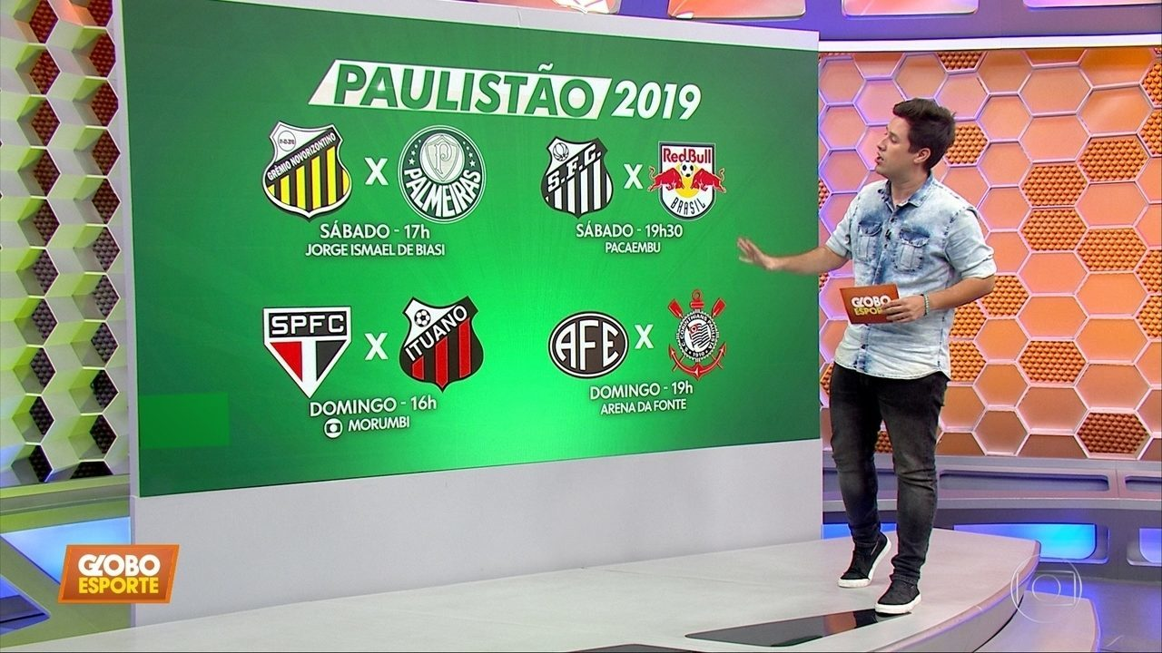 Definidas as datas e os horários das quartas de final do Paulistão
