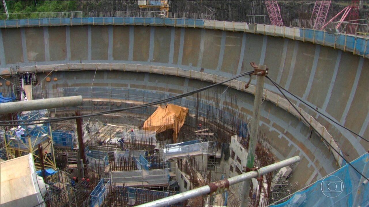 Prisões são resultado da investigação sobre obra da usina nuclear Angra 3