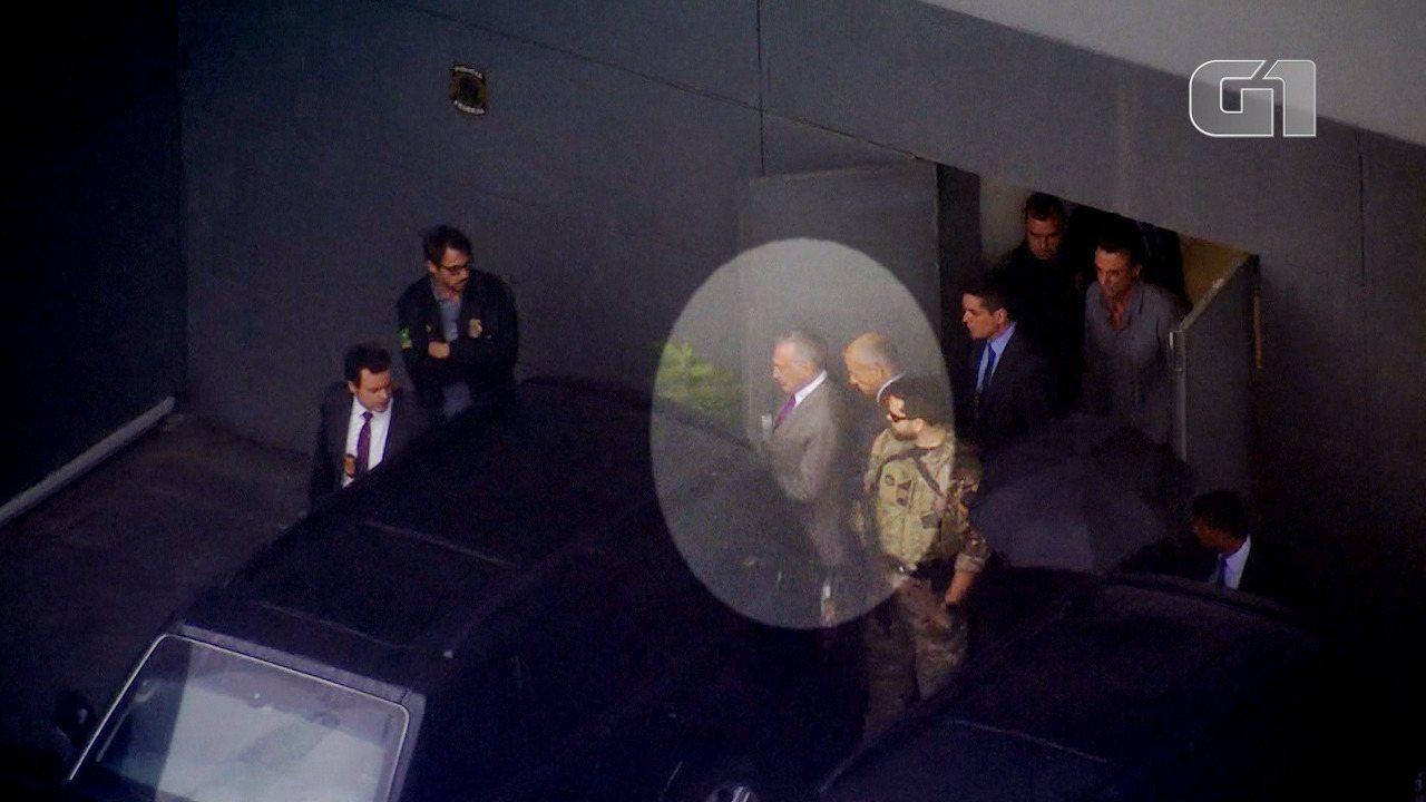 Veja os passos do ex-presidente Michel Temer no dia de sua prisão