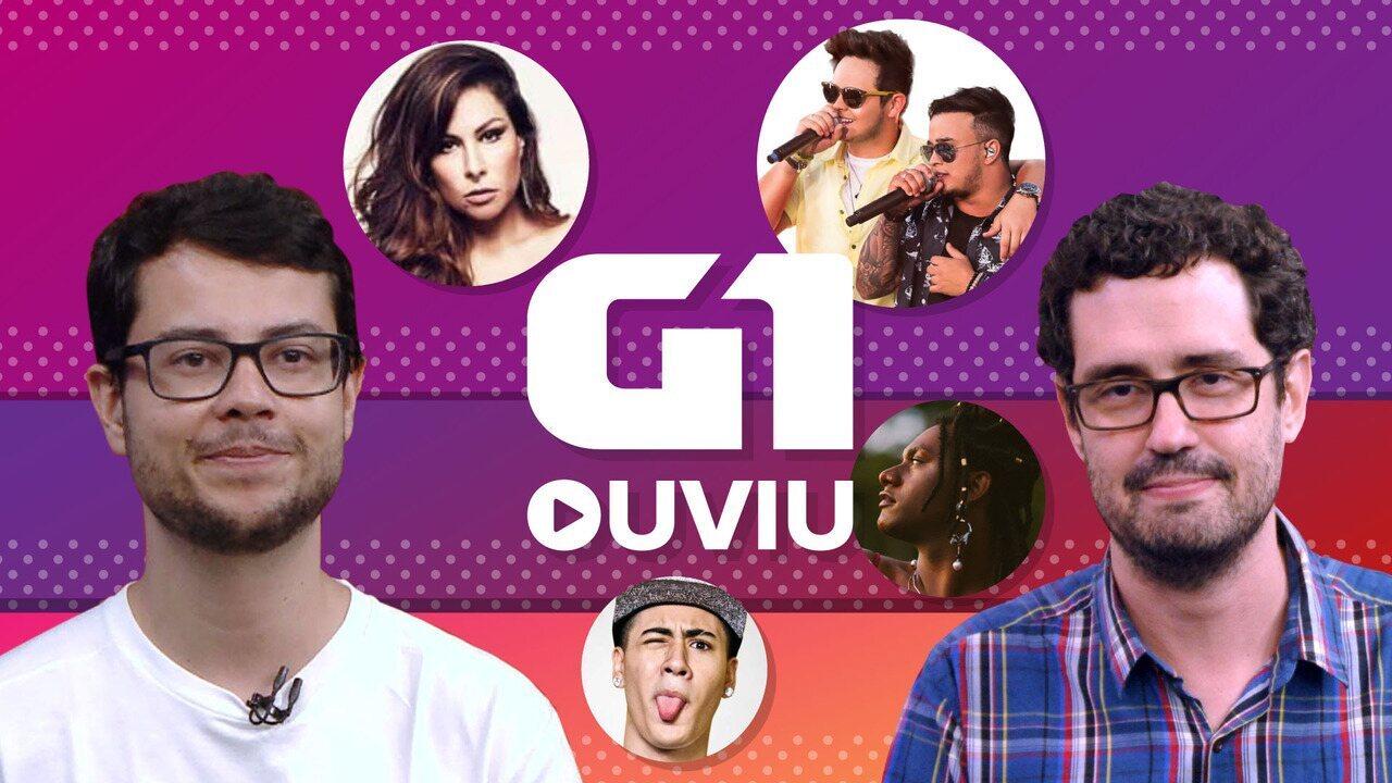Pitty, Kevinho, Liniker e Matheus e Kauan: a semana no G1 Ouviu