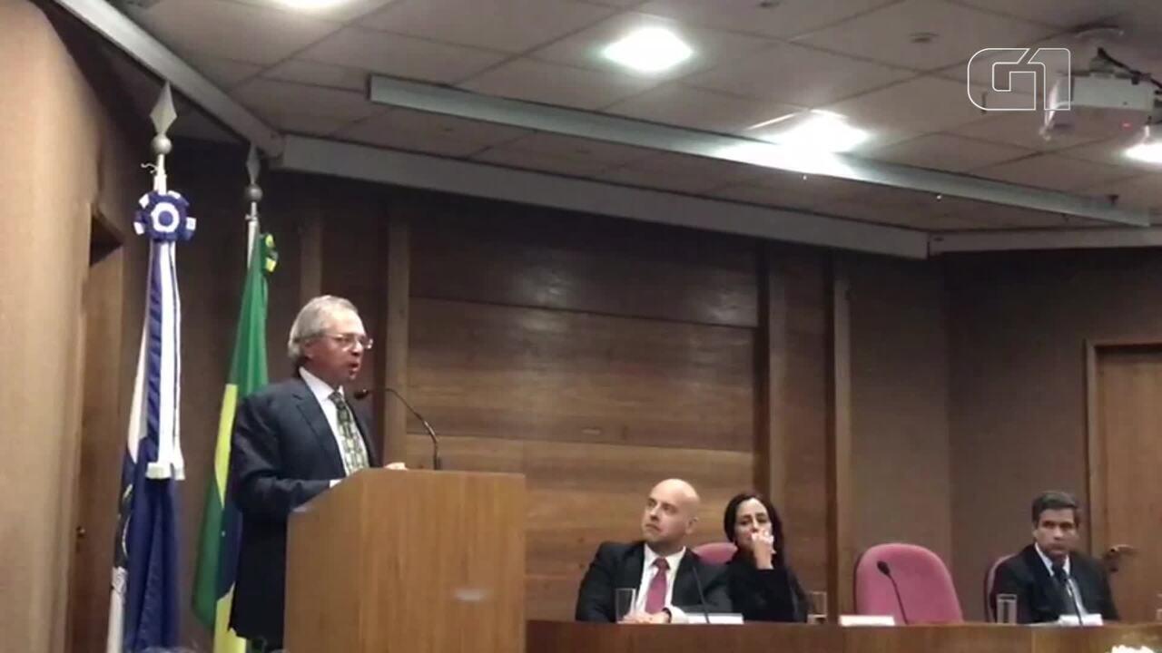Guedes diz que Maia e outros envolvidos na reforma da Previdência 'farão o necessário'