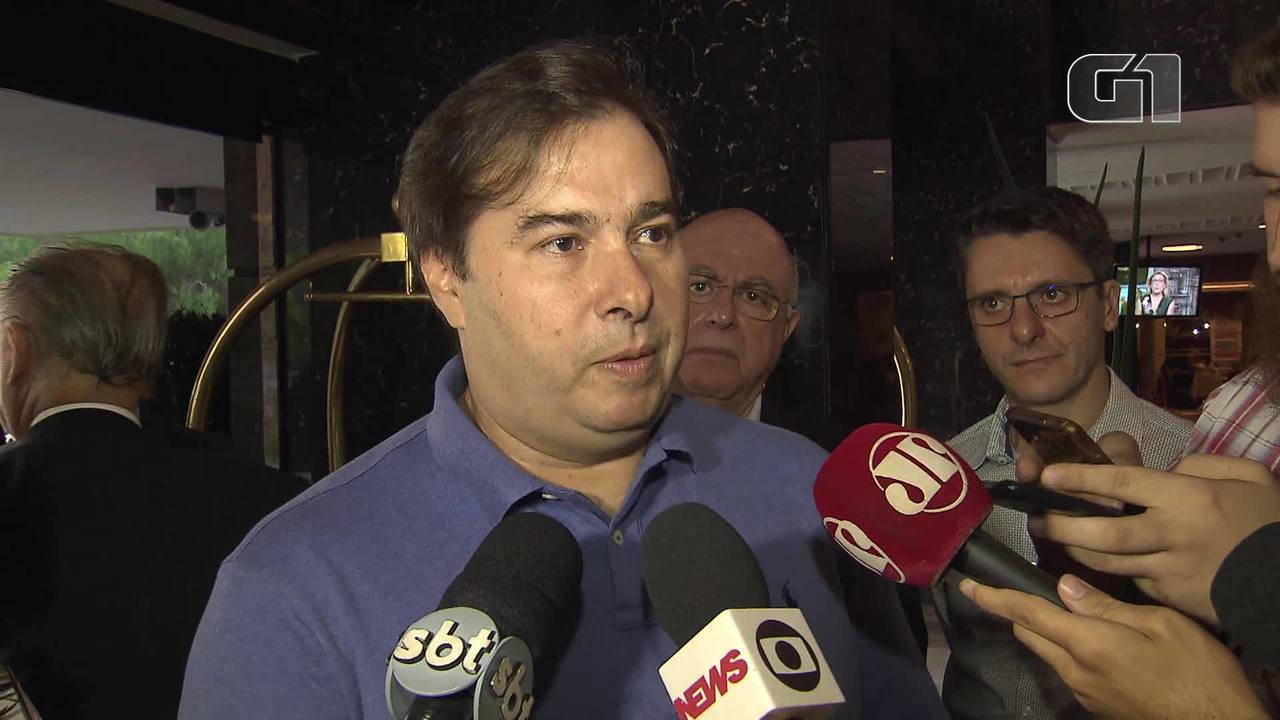 Rodrigo Maia disse que governo Bolsonaro não pode terceirizar a articulação política