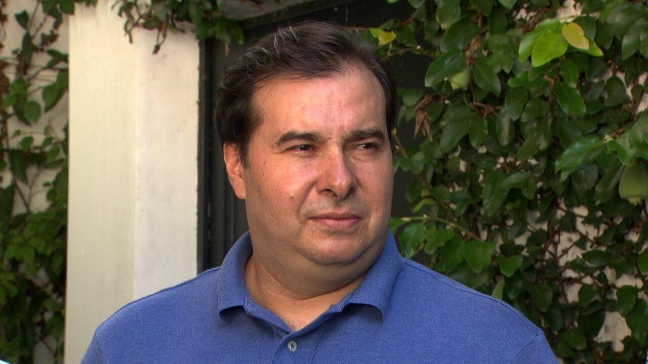 Rodrigo Maia diz que não usa redes sociais para agredir ninguém