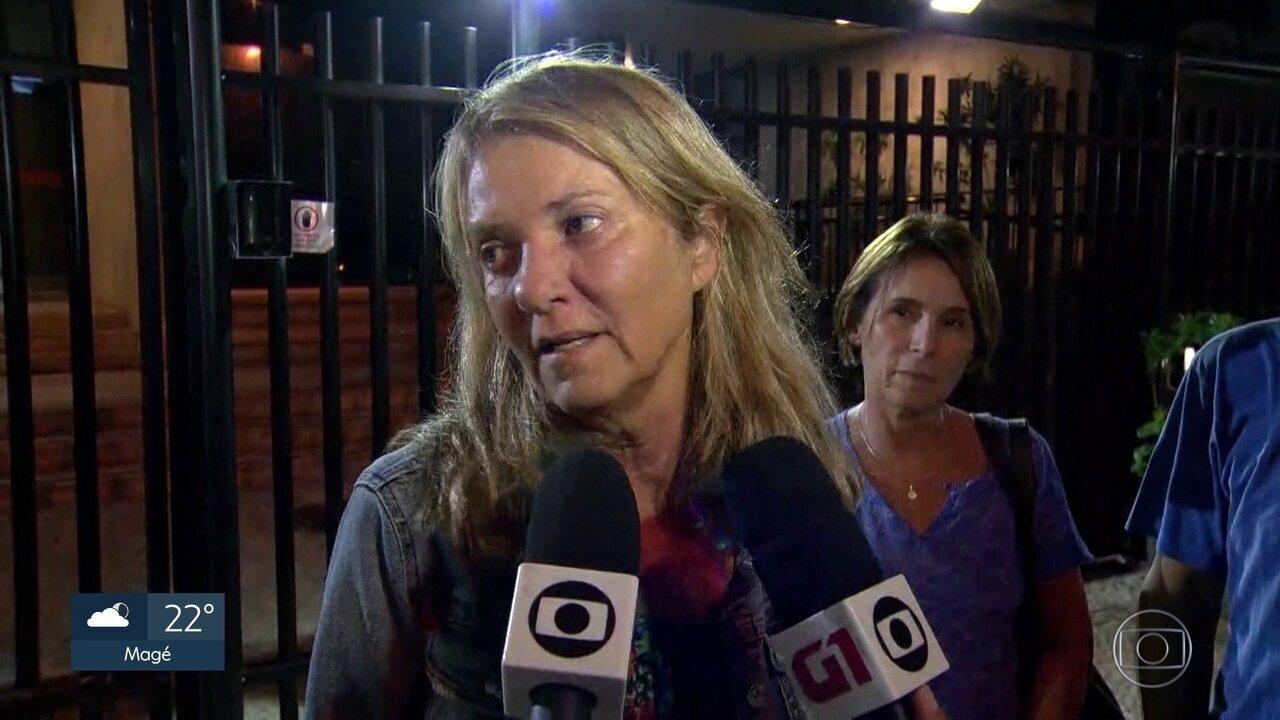 Priscilla Rozenbaum, viúva de Domingos Oliveira, diz que ele queria morrer em casa