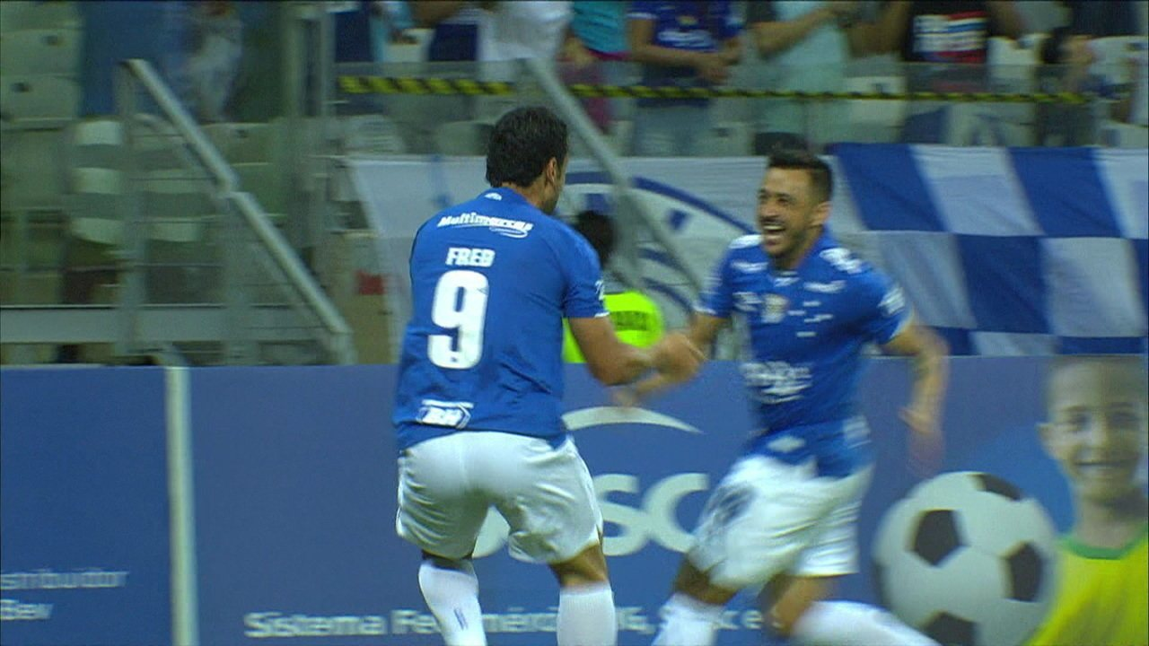 Os gols de Cruzeiro 5 x 0 Patrocinense pelas quarta de final do Campeonato Mineiro 2019