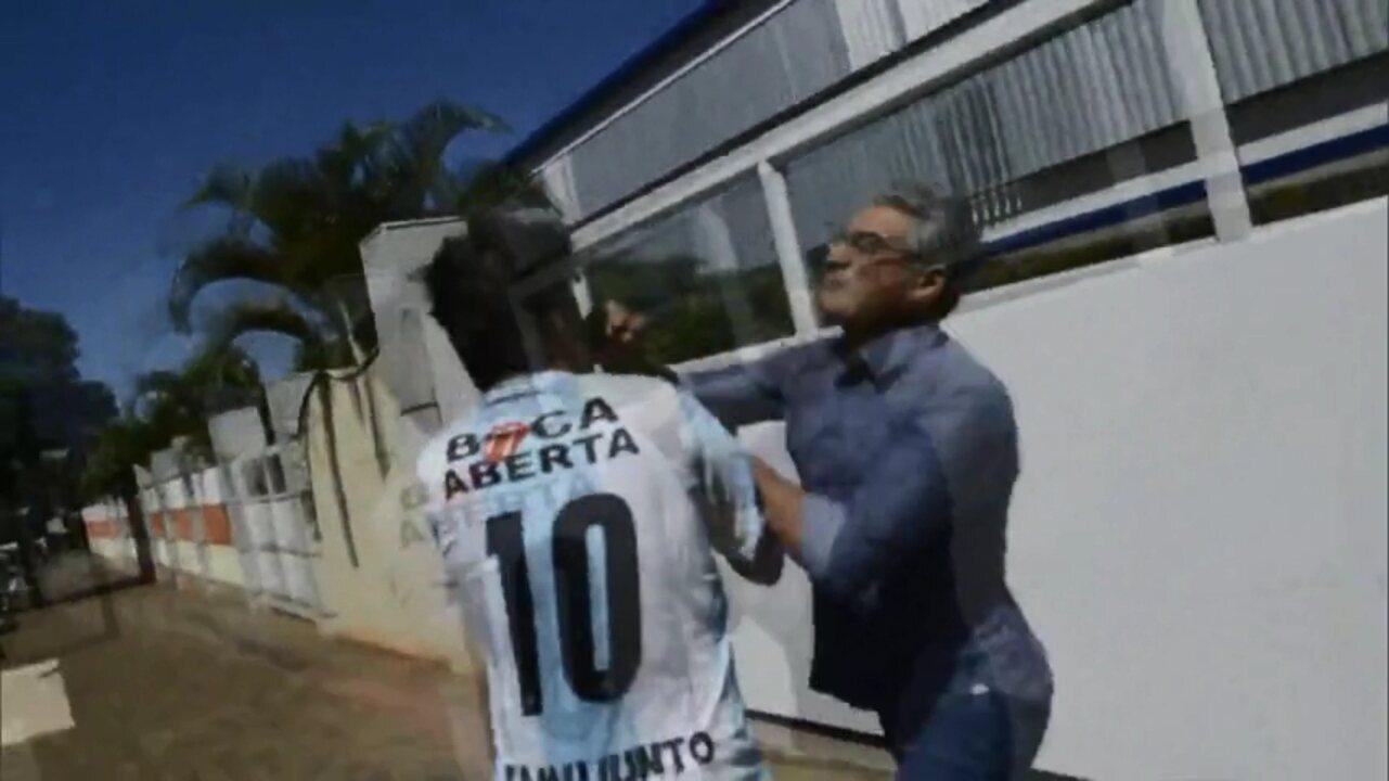 Deputado federal e vereador brigam no meio da rua em Londrina