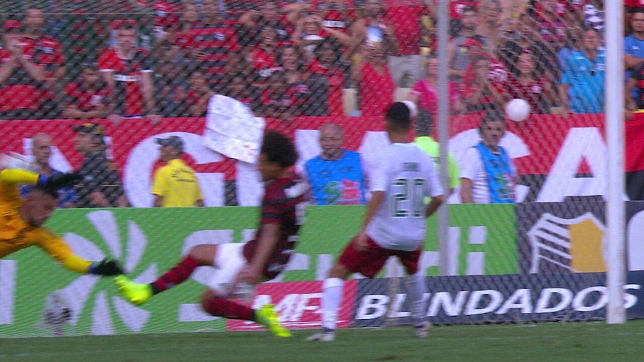 Melhores momentos: Flamengo 3 x 2 Fluminense pela 6ª rodada da Taça Rio