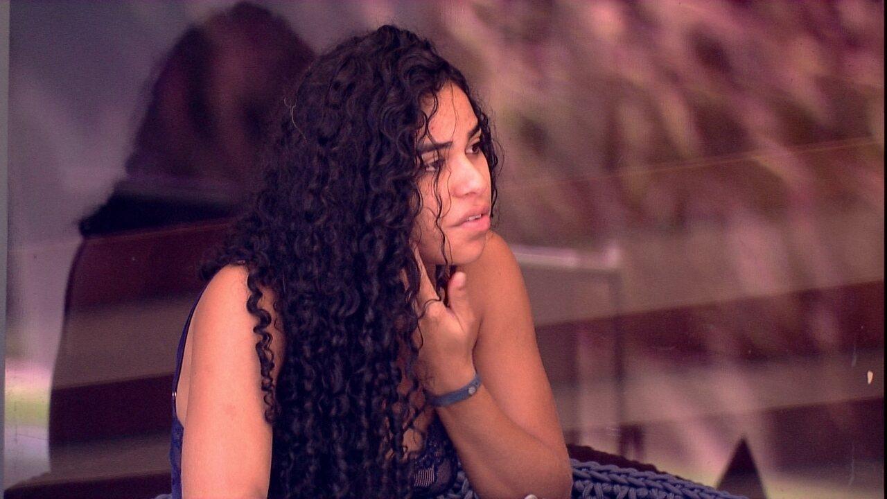 Elana sobre Paredão com Paula e Carolina: 'Dá medo'