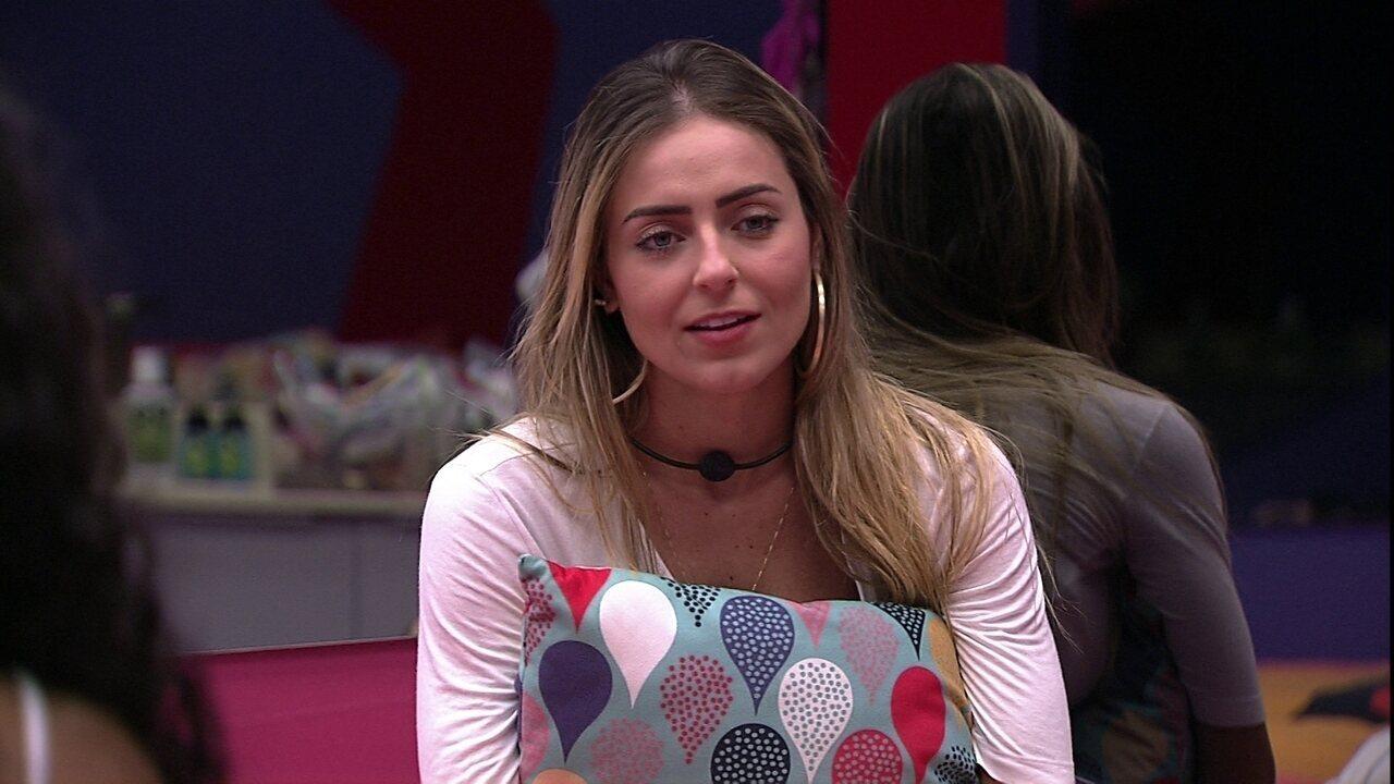 Paula desabafa com Elana: 'Esse Paredão vai ser muito difícil'