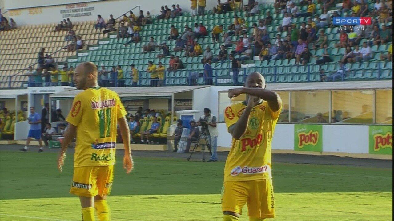 Os melhores momentos de Mirassol 2x0 Guarani pelo Troféu do Interior