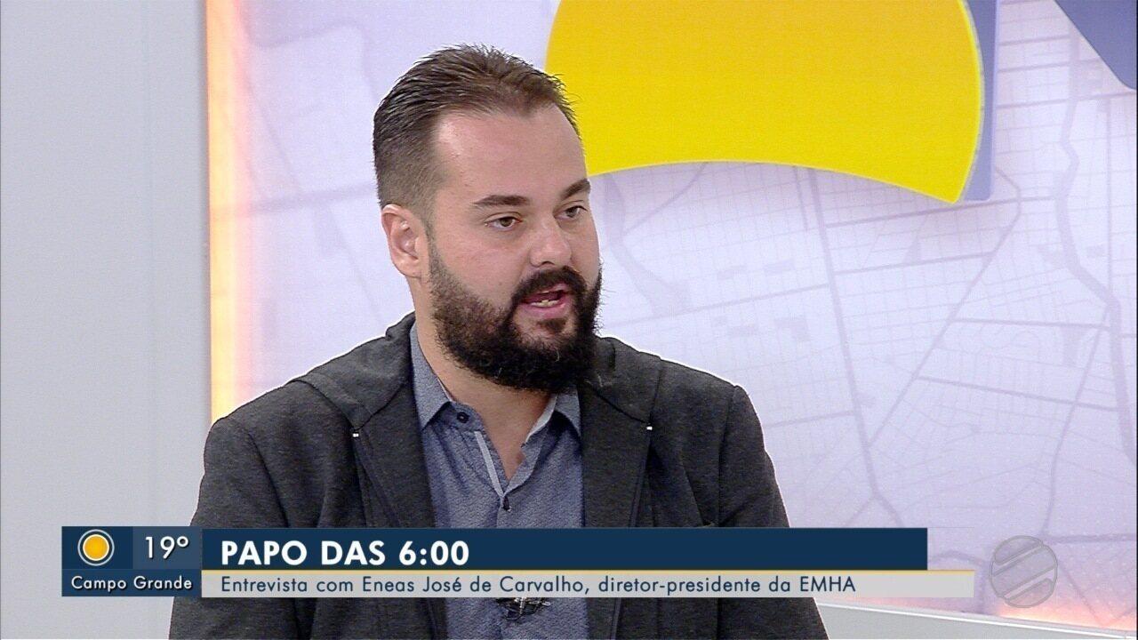 Diretor-presidente da Emha, Eneas José de Carvalho Netto é o entrevistado do Papo das 6