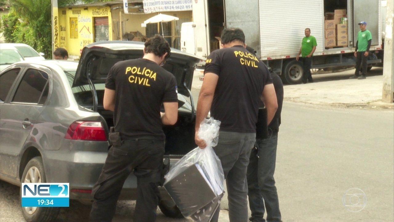 Polícia investiga fraude em licitações e corrupção e afasta secretário em Camaragibe
